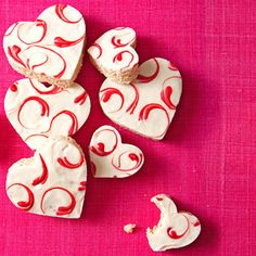 Valentines Day Rice Krispies Hearts ~ Kids will love these!