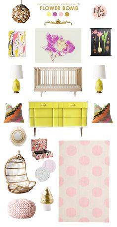 flower baby girl room ideas