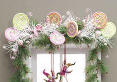 Candy Wonderland swag decor