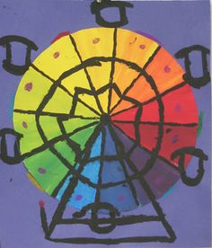color wheel carnival