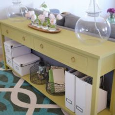 DECK SERVING TABLE ??????DIY Sofa Table