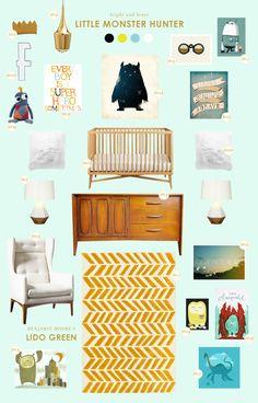monster baby room ideas