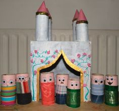 Hear ye, hear ye! This Medieval Castle and Court is full of good knights and ladies made as toiler paper roll crafts. Thy little children may make these stunning recycled crafts for kids to play at lords and gentle ladies in the Middle Ages.