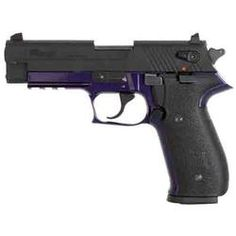 "SIG Sauer Mosquito Semi-Automatic Rimfire Handgun .22 Long Rifle 3.9"" Barrel 10 Rounds Purple Polymer Frame Blued Slide  $310"