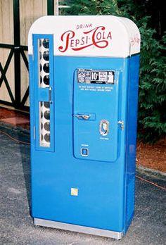 1950's soda machine