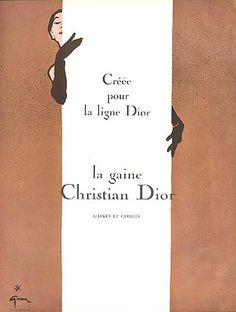 Christian Dior by Rene Gruau