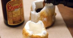 50 campfir, roast marshmallow, marshmallow shot