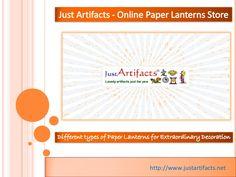 Online Paper Lanterns Store