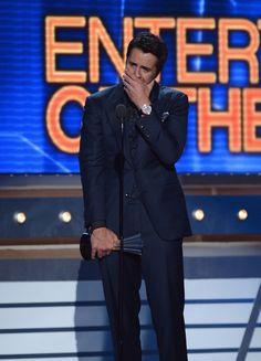 Luke Bryan won Entertainer of the Year award!