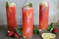 Vodka Strawberry lemonade