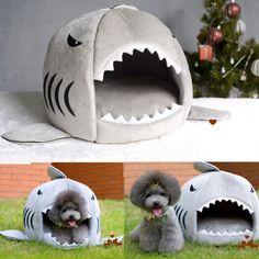 Cute Dog Bed Shark