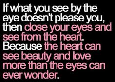 If what you see