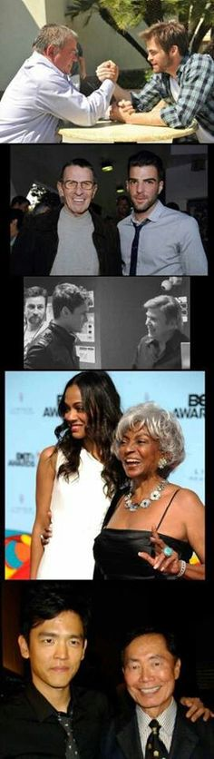 Star Trek past & present.