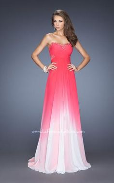 Another ombre beauty! #Prom2014 now available at Aurora Unique Bridal Boutique ask for style 19791