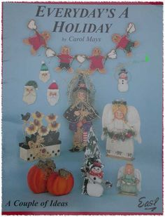 Everyday's A Holiday Tole Painting Pattern Book by TheHowlingHag, $4.95