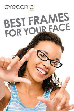 Try Glasses Frames On Your Face : Best Frames for Your Face on Pinterest Oblong Face Shape ...
