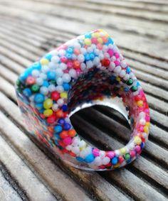 Candy Square Ring | dotandbo.com