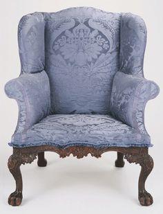 Philadelphia wing chair, circa 1770 ...SO GORGEOUS!