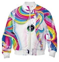 lisa frank bomber jacket--how is this even possible?!