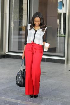 Pops of Color pt. 3 // 51 Cute Work Outfits to Wear This Summer