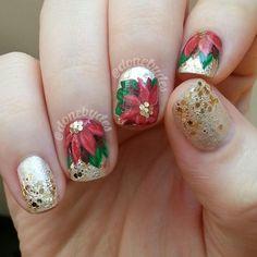 christmas by donebydes #nail #nails #nailart