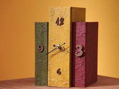 Manualidades y Artesanías | Caja reloj de madera | Utilisima.com