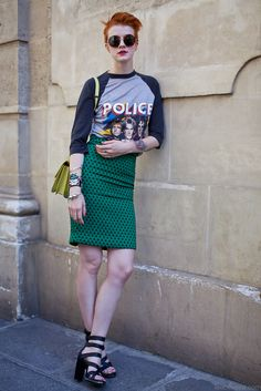 On the streets of Paris #streetstyle #fashion
