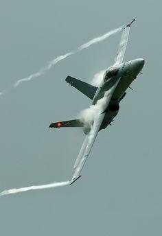 Swiss F-18, Waddington by Allan R Chapman
