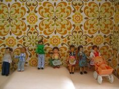 our doll house family