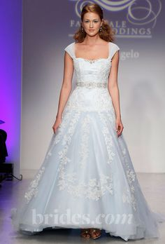 new alfred angelo disney wedding dress blue fall 2013