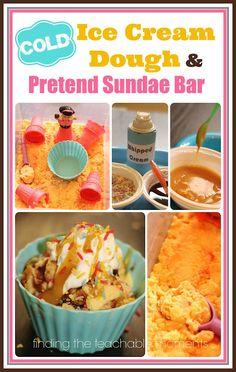 Finding the Teachable Moments: Ice Cream Dough and Sundae Bar