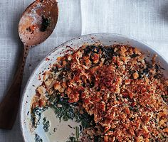 Winter Greens Gratin