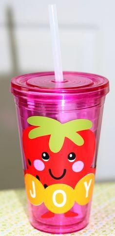 Using Make the Cut Conical Warp to Create Vinyl Strawberry Tumbler http://joyslife.com/using-make-the-cut-conical-warp-to-create-vinyl-strawberry-tumbler