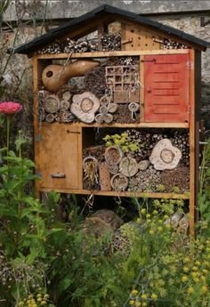 Insect and Bee Hotel. Every garden should have one!