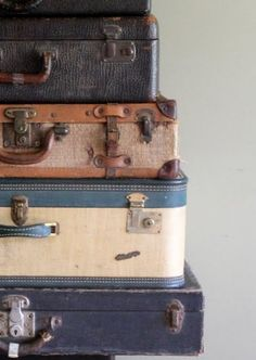 Suitcase stack
