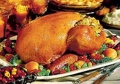 Turkey & Dressing for Christmas Dinner