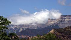 Rifle, CO; Anvil Points and the Bookcliffs--what we see outside our windows every day.
