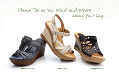 Good shoes can do a #worldofgood for you and your outlook! Earth Spring/Summer 2013 lookbook featuring the Eden, Vista and Sugarpine.  Available Spring '13 http://www.earthbrands.com/earthfootwear