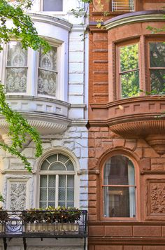 Two Houses, Upper East Side, NYC