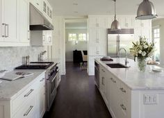 Dark Hardwood Floors - Charlie and Co. Design