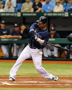 Carlos Pena at bat...Rays sweep the Mariners in a 4 game series   05/03/12