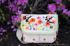 Mommy by day Crafter by night - small messenger bag