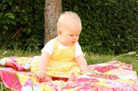 Baby Bouquets by Kathryn Wagar Wright in Best Fat Quarter Quilts 2014