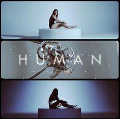 Christina Perri is Part Machine in Human Music Video