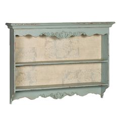 country cottages, french bedrooms, blue wall, storage shelves, wall shelves, blues, kitchen walls, french kitchens, vintage style