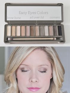 Easy Eyes with the Urban Decay Naked 2 palette