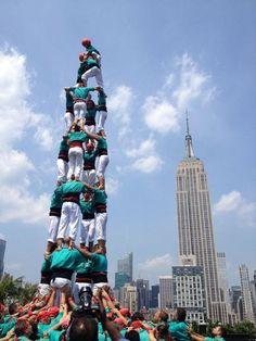 Castellers de Vilafranca a New York