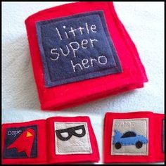 Little Super Hero ~ Felt Book