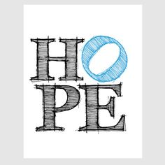 inspirational motivational hope quote paper print in by EcoPrint, $14.00