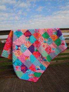 Fit for a Princess Quilt by ImAGingerMonkey, via Flickr